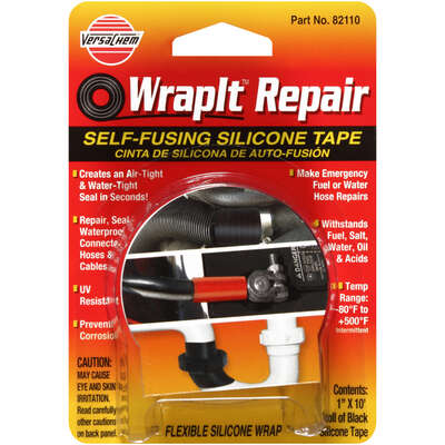 Versachem  WrapIt  Self Fusing Silicone Tape  Solid  10 ft.