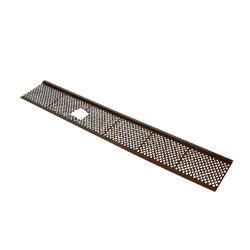 Amerimax  6 in. W x 36 in. L Brown  Plastic  Gutter Guard