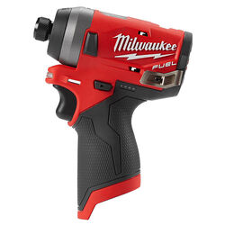 Milwaukee  M12 FUEL  12 volt Cordless  Brushless  Impact Driver  Bare Tool  1300 in-lb