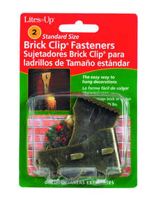Dyno  Brick  Light Clips  2 pk Fiberglass  Black