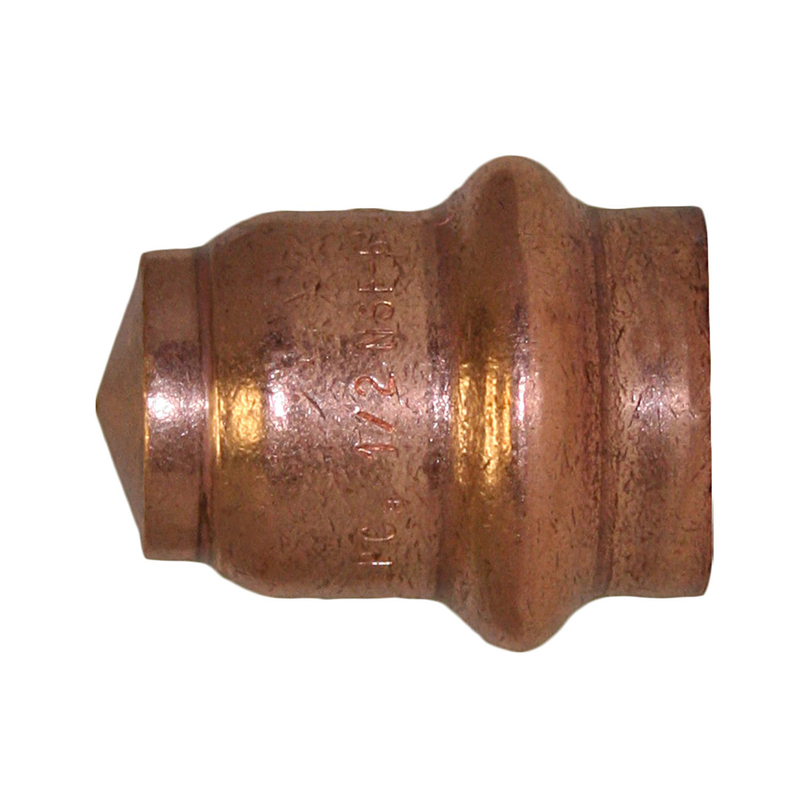 ApolloXpress  3/4 in. CTS   x 3/4 in. Dia. CTS/Press  Copper  Cap