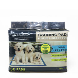 Humane Society  Plastic  Disposable Pet Waste Pads  50 pk