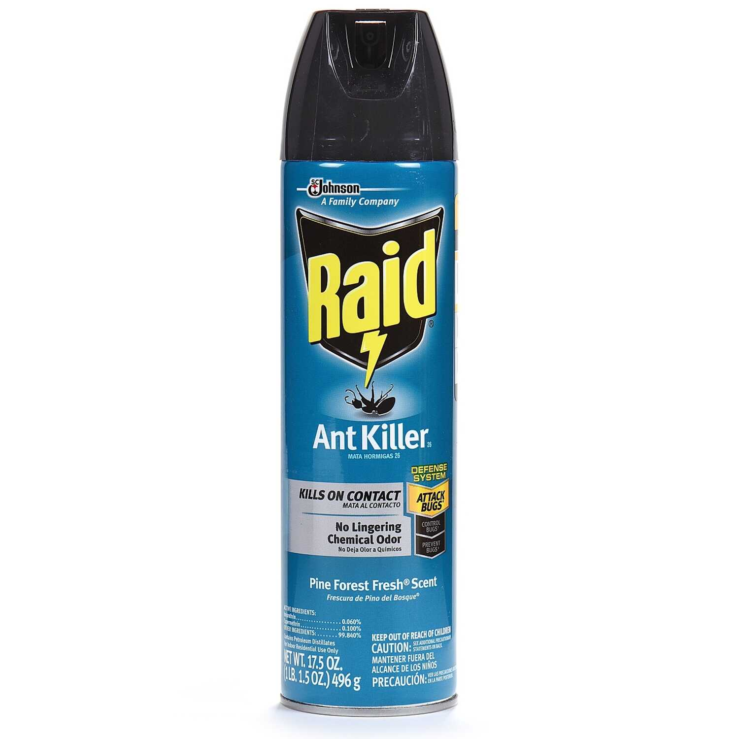 Raid  Insect Killer  17.5 oz.