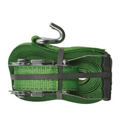 Keeper 2 in. W x 30 ft. L Green Tie Down w/Ratchet 3333 lb. 1 pk