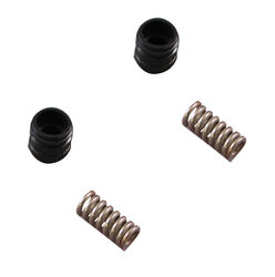 Ace For Milwaukee 1/2 in.-24 Rubber/Stainless Steel Faucet Seats and Springs