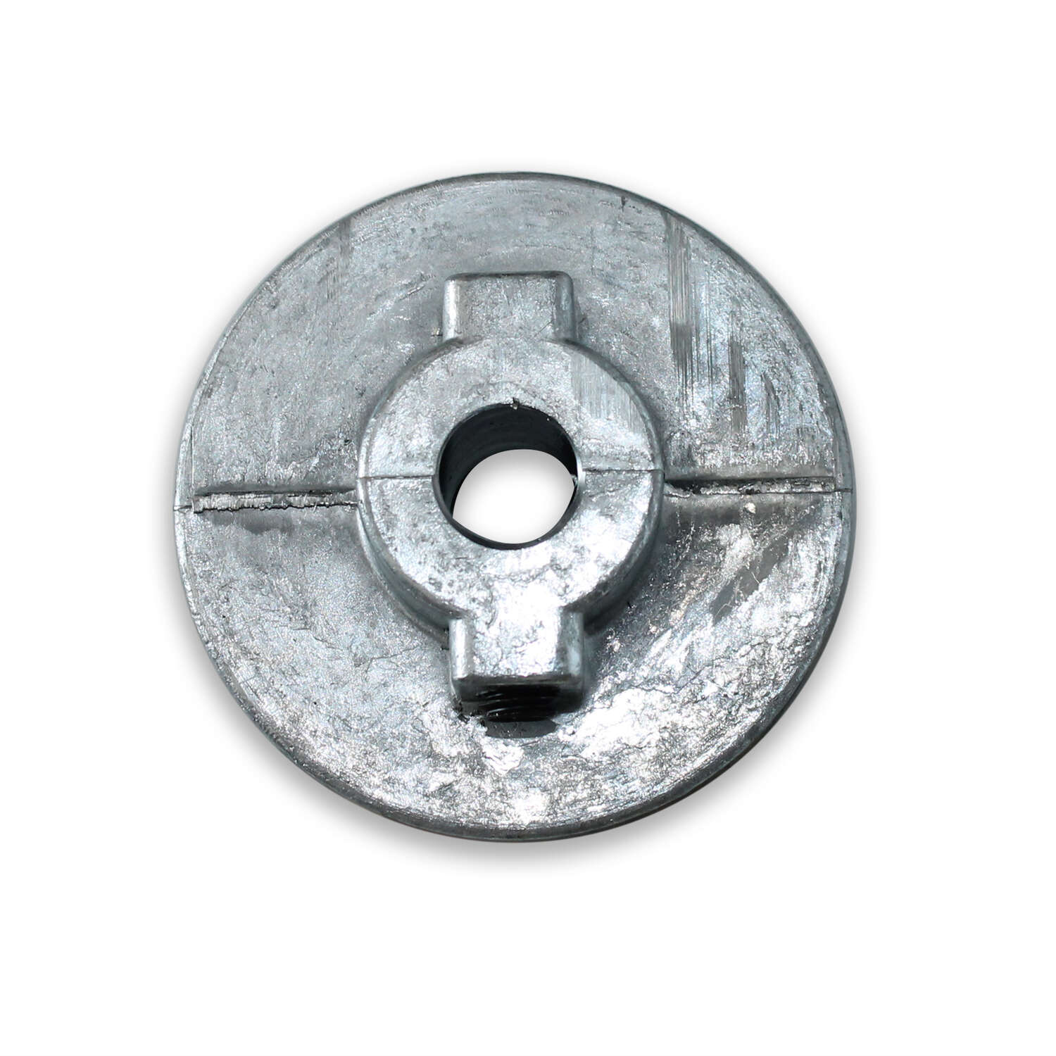 Chicago Die Cast Single V Grooved Pulley A 5 in. x 1/2 in. Bulk