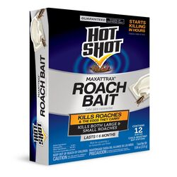 Hot Shot MaxAttrax Roach Bait Station 12 pk