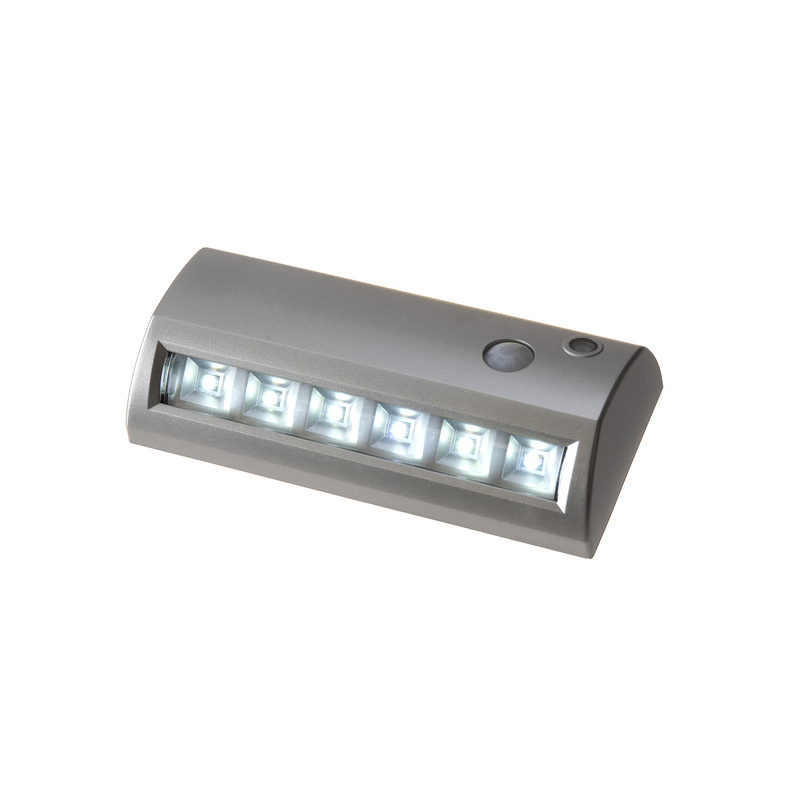 Fulcrum  LIGHT IT  Silver  Silver  Battery Operated  42 watts Pathway Light  1 each LED