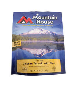 Mountain House  Chicken Teriyaki  Freeze Dried Food  5.01 oz. Pouch