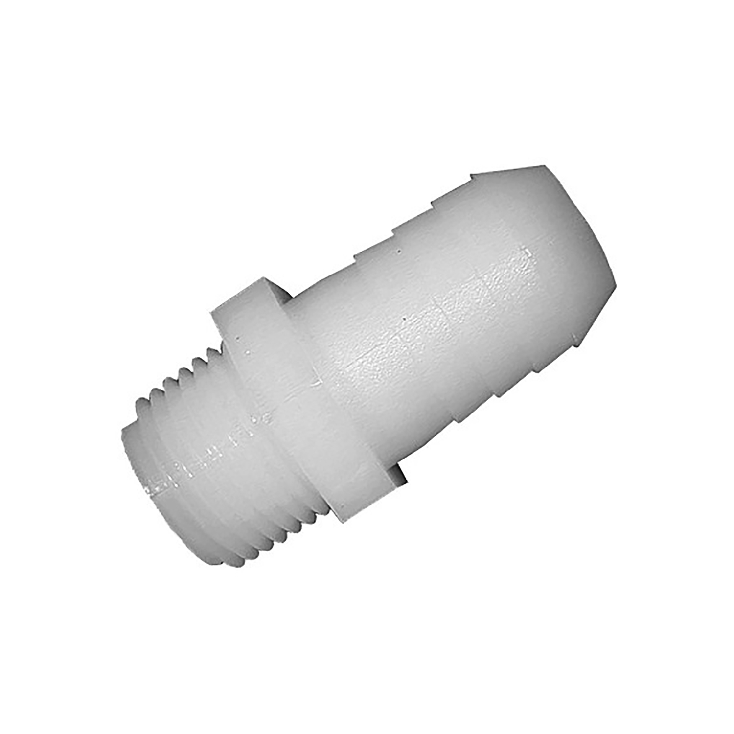 Green Leaf  Nylon  Adapter  1/4 in. Dia. x 1/8 in. Dia. White  1 each