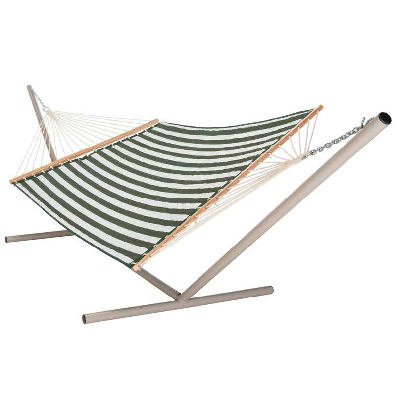 Castaway  55 in. W x 82 in. L 2 person  Multi-color  Quilted Hammock