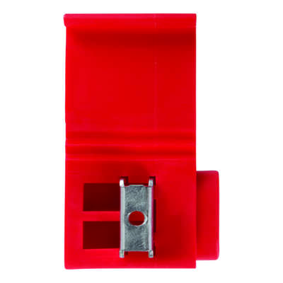 Jandorf  22-16 Ga. Insulated Wire  Terminal Self-Stripping  Red  2 pk