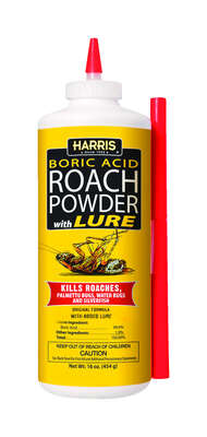 Harris  Organic Powder  Insect Killer  16 oz.