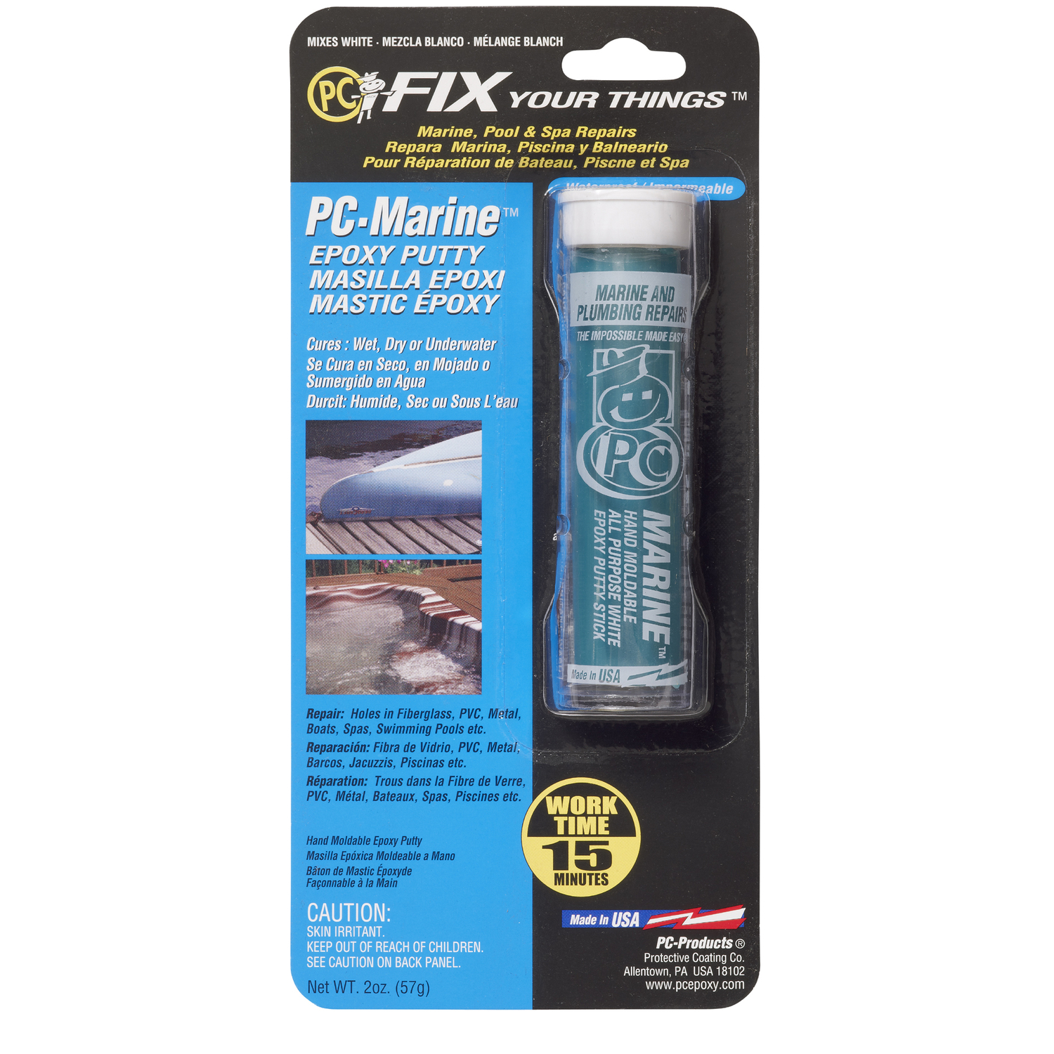 PC-Marine  High Strength  Epoxy  Epoxy  2 oz.