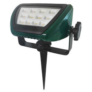 Ace  Green  Plug In  9.9 watts LED  Floodlight  1 pk