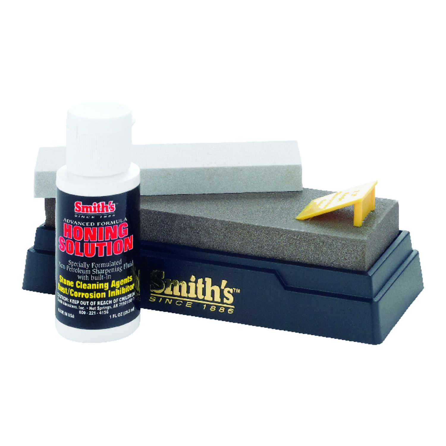 Smith's  5/8 in. Dia. x 5  L Sharpening Kit  1,200 Grit 1 pc.