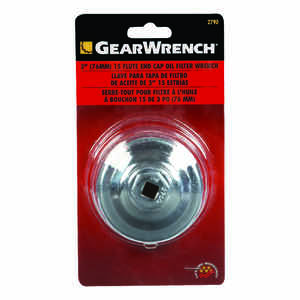GearWrench  End Cap  Oil Filter Wrench  3 in.