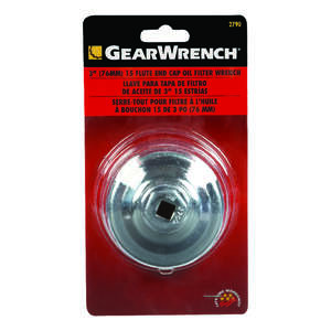 KD End Cap Oil Filter Wrench 3 in.