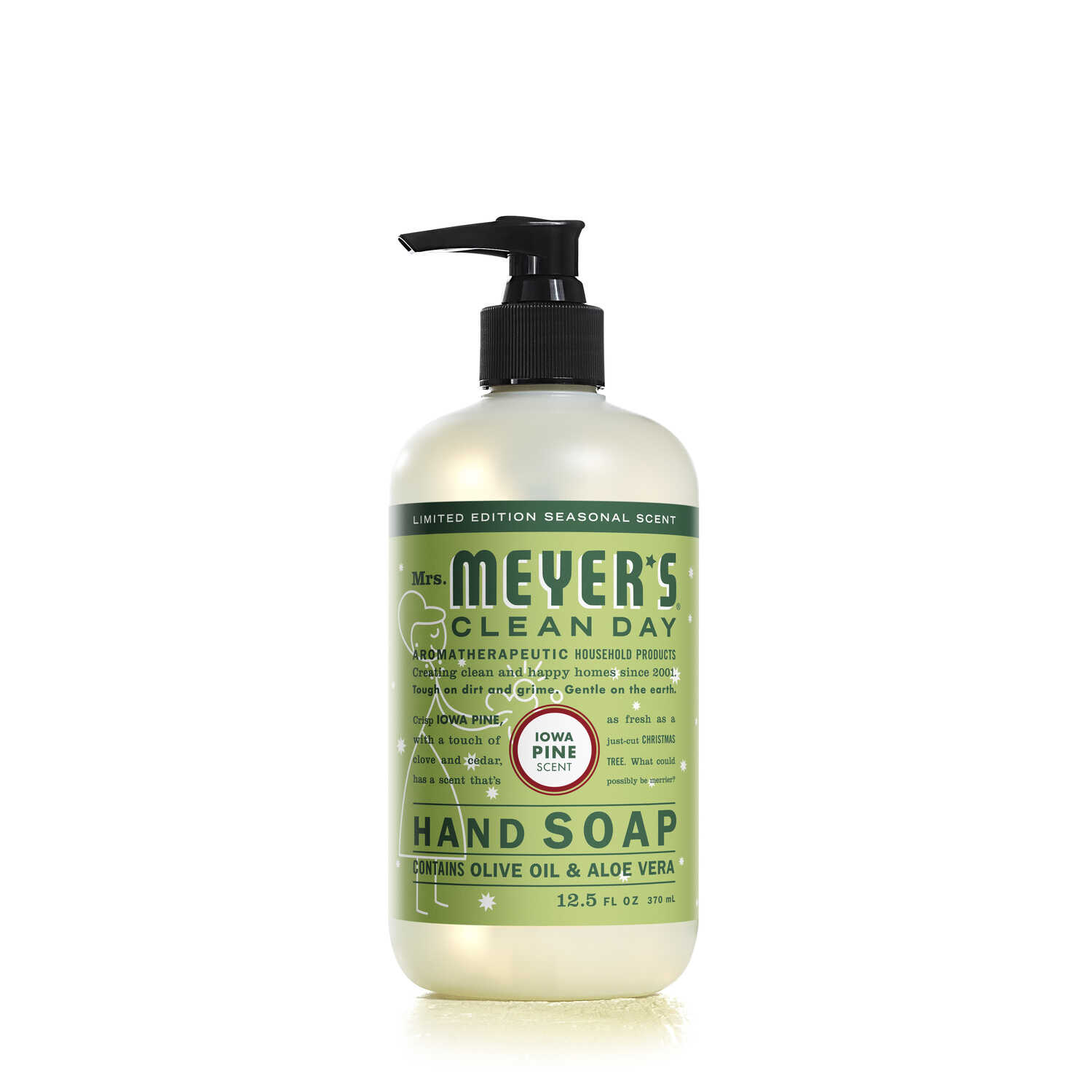 Mrs. Meyer's  Clean Day  Organic Iowa Pine Scent Liquid Hand Soap  12.5