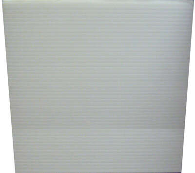 Plaskolite  Single  Corrugated Plastic Sheet  18 in. W x 24 in. L x .157 in.