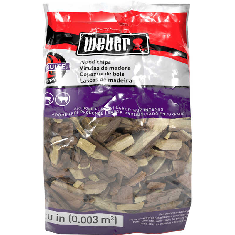 Weber  Firespice  Mesquite  Wood Smoking Chips  350 cu. in.