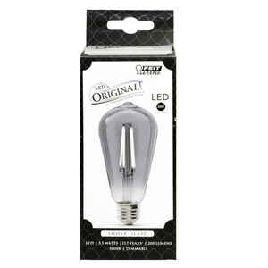 FEIT Electric  ST19  E26 (Medium)  LED Bulb  Smoke Daylight  25 Watt Equivalence 1 pk