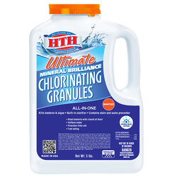 HTH Ultimate Mineral Brilliance Granule Chlorinating Chemicals 5 lb.