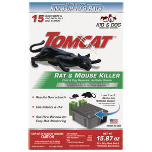 Tomcat  Bait Station  For Mice/Rats 1 pk