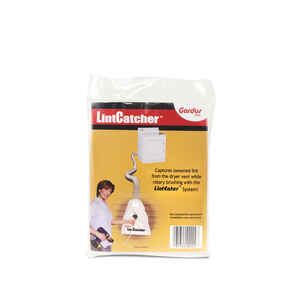 Gardus  6 in. W x 9 in. L White  Lint Catcher