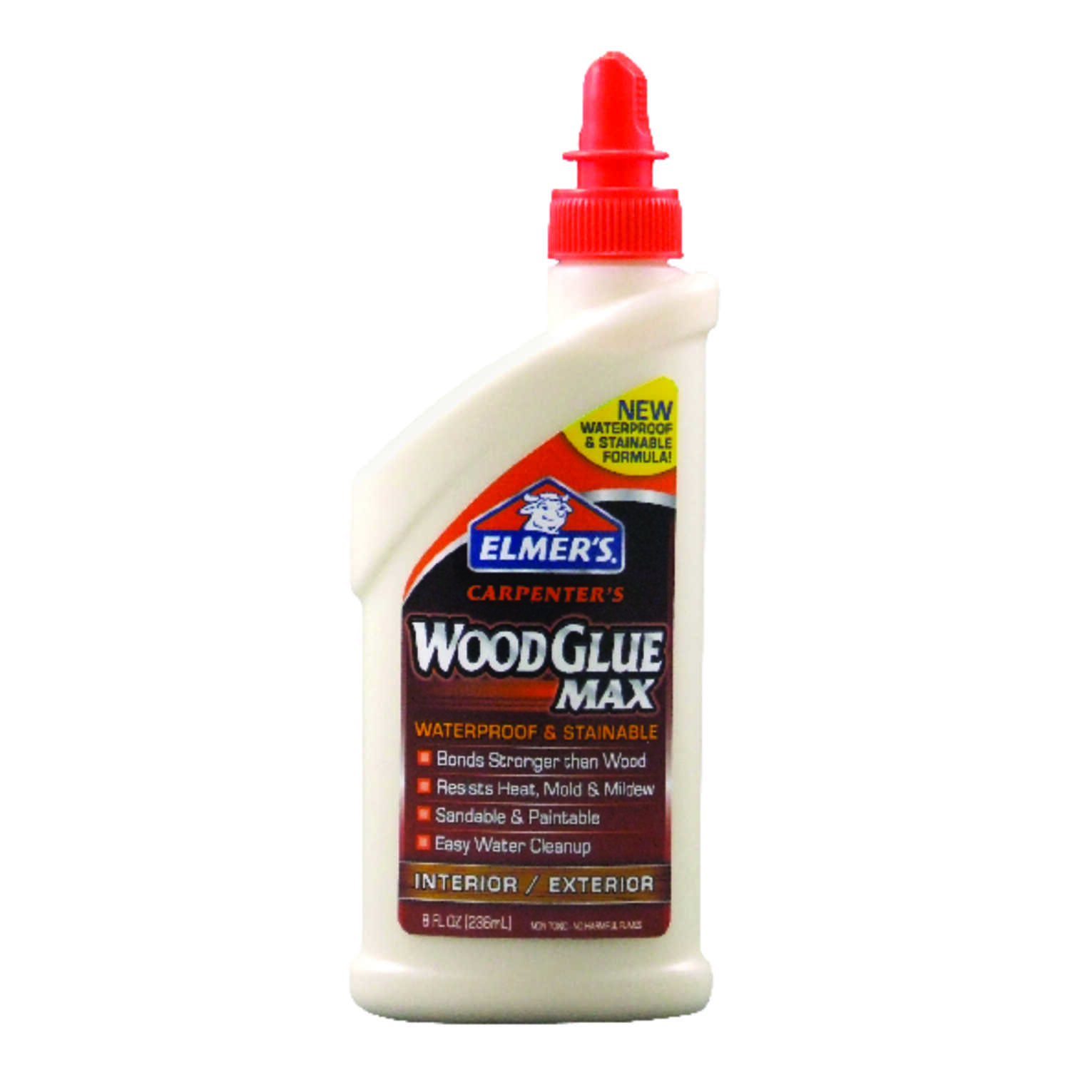 Elmer's  Beige  Wood Glue  8 oz.