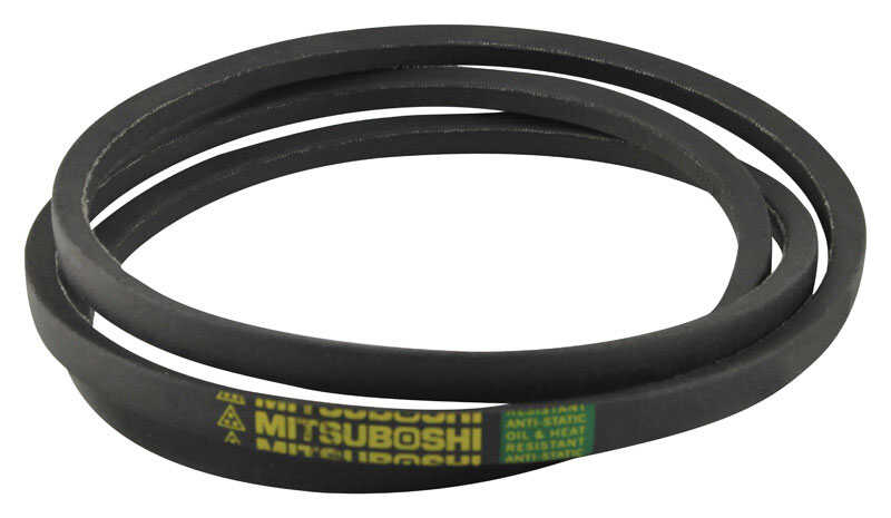 Mitsuboshi  General Utility V-Belt  0.5 in. W x 71 in. L For All Motors