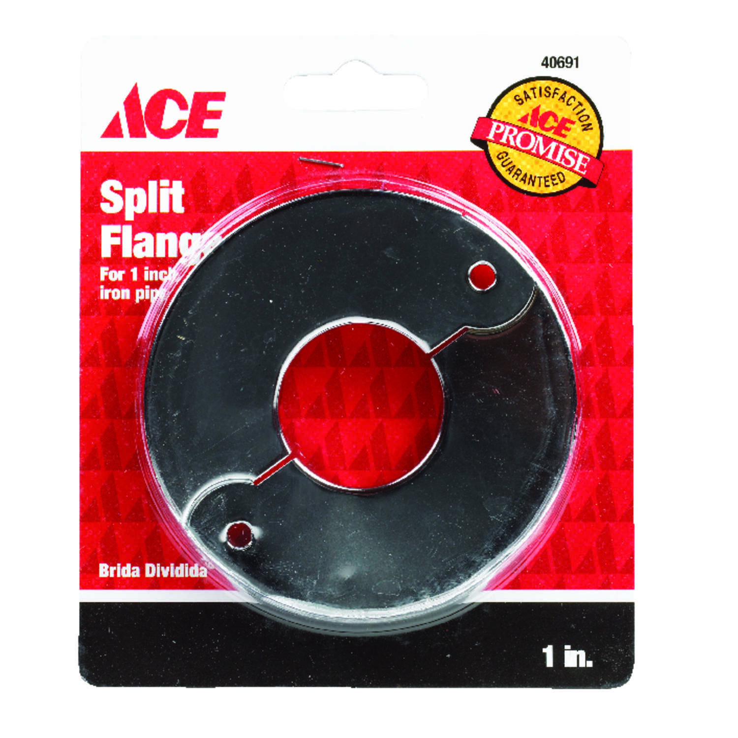 Ace  1 in. Steel  Split Flange