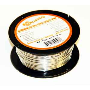 Gallagher  Electric  Electric Fence Wire  Silver