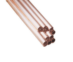 Reading  1 in. Dia. x 10 ft. L Type M  Copper Tubing