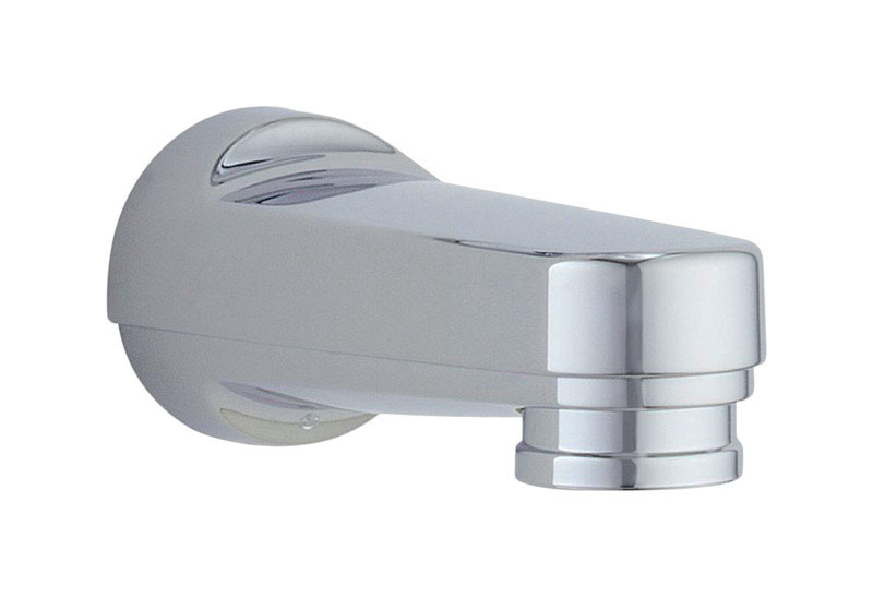 Delta  Oversided Bathtub Diverter Spout  Carlisle Series  Chrome Finish