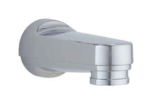 Delta  Carlisle Series  1-Handle  Chrome  Oversided Bath Diverter Spout