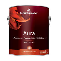 Benjamin Moore Aura Satin Base 1 Paint Interior 1 gal.