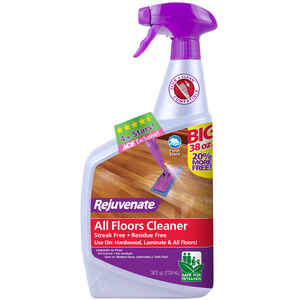 Rejuvenate  Clean Fresh Scent Floor Cleaner  38 oz. Spray
