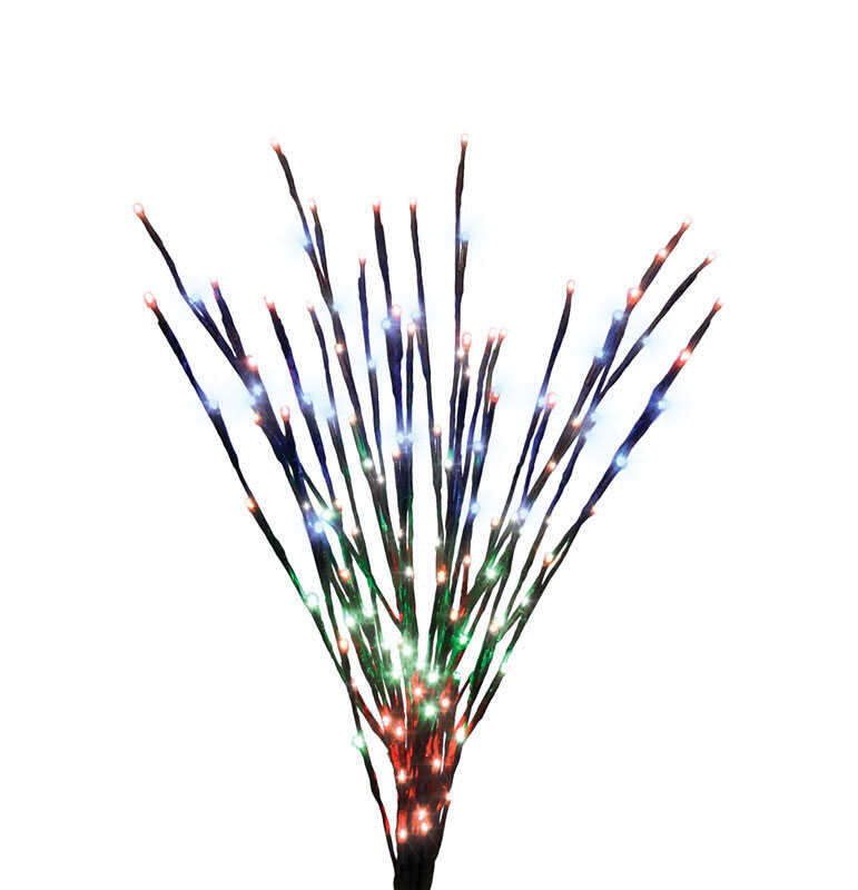 Celebrations  LED  Burst  Landscapers Light Set  Multicolored  36 in. 140 lights