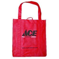 Ace  13-1/2 in. H x 12-1/2 in. W x 14 in. L Reusable Shopping Bag