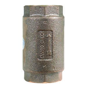 Campbell  Red Brass  Spring  Check Valve