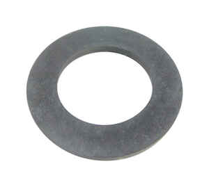 Danco  Rubber  1-7/8 inch  Dia. x 3 inch  Dia. Overflow Plate Gasket
