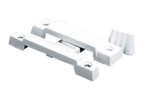 Prime-Line  Painted  White  Die-Cast Zinc  Sash Lock  1 pk