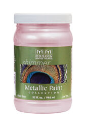Modern Masters  Shimmer  Satin  Rose  Metallic Paint  1 qt.