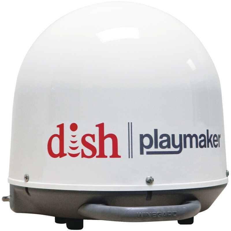 Winegard Dish Playmaker  Outdoor  HD  Dish Portable Satellite Antenna  1 pk