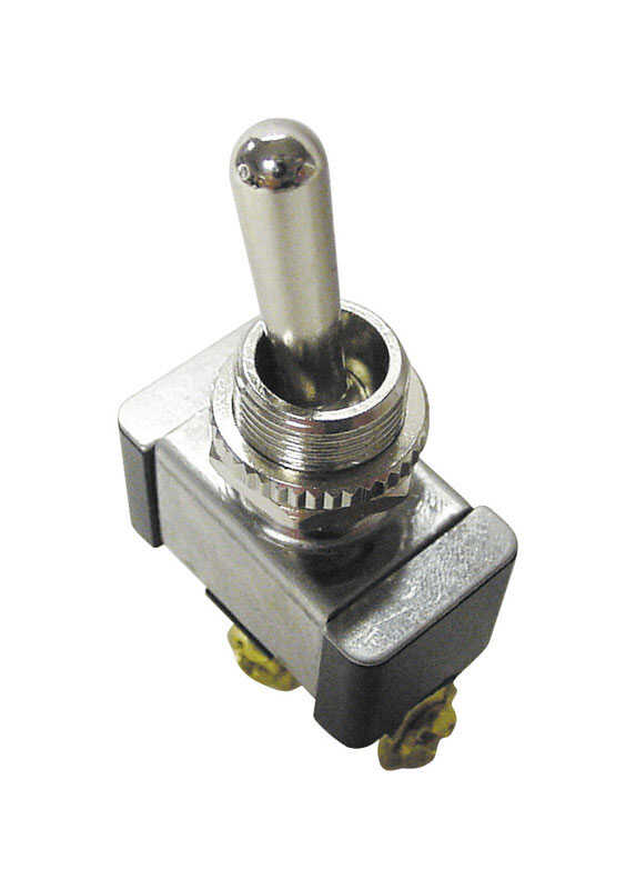 Gardner Bender  20 amps Single Pole  Silver  Switch  Toggle  1 pk