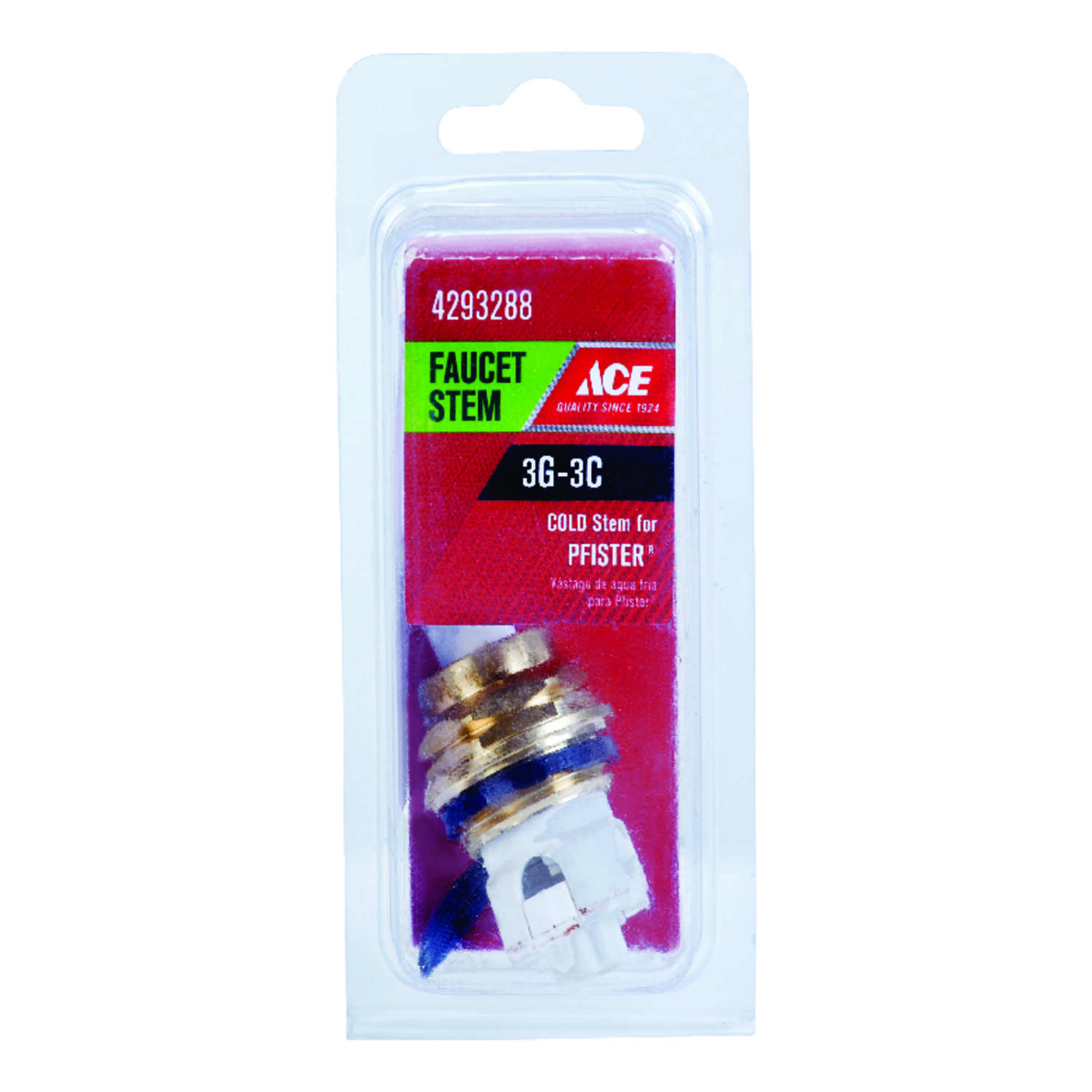 Ace  3G-3C  Cold  Faucet Stem  For Pfister