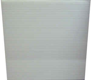 Plaskolite  Single  Corrugated Plastic Sheet  24 in. W x 48 in. L x .157 in.