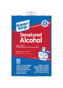Klean Strip  Denatured Alcohol  Clean Burning Fuel  1 qt.