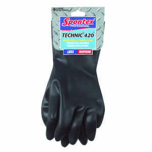 Spontex  Neoprene  Gloves  XL  Black  1 pk